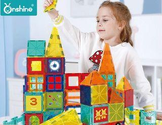 ★Colourful Magnetic Toy★Magnetic building blocks/Magnet construction toys/ Educational Toys/Birthday gift