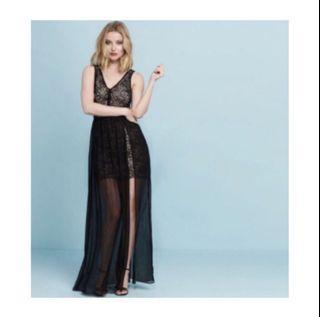 Dynamite Lace Maxi Dress