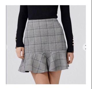 Evernew Simone fit and flare skirt