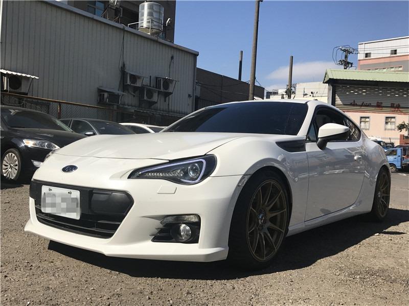 Fb搜尋🔍阿哲中古車買賣 粉絲專頁🚘2013年Subaru 速霸陸 BRZ 白 頂級 AP卡鉗