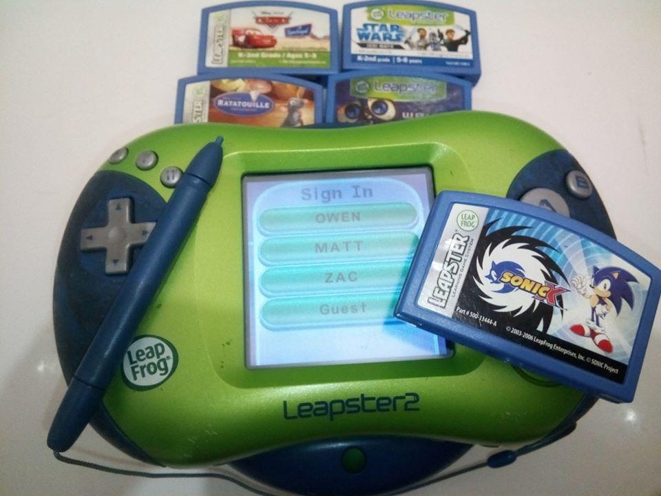 Leapster 2        console and Games 600k