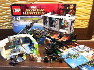 LEGO 76007 Iron Man: Malibu Mansion Attack    鋼鐵人英雄電影場景盒組