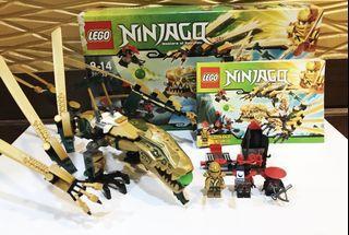 LEGO 樂高忍者系列70503 Ninjago 黃金飛龍