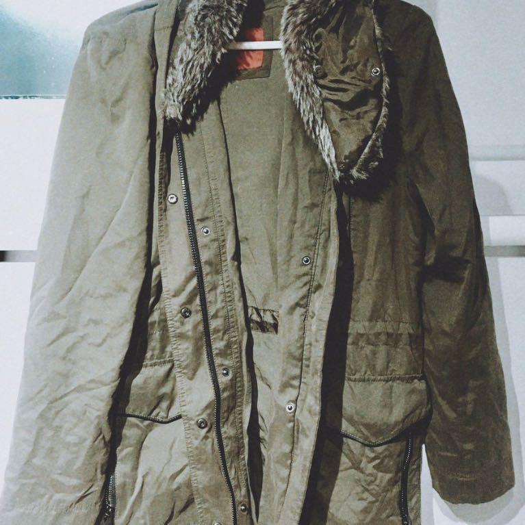 mango winter coat