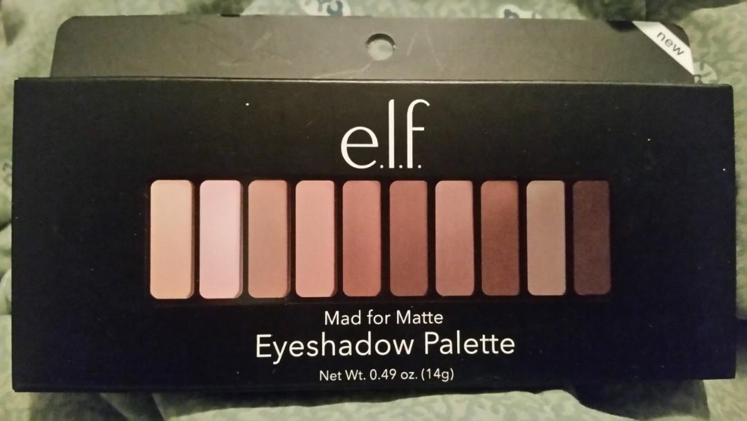 NEW E.L.F. Eyeshadow palette