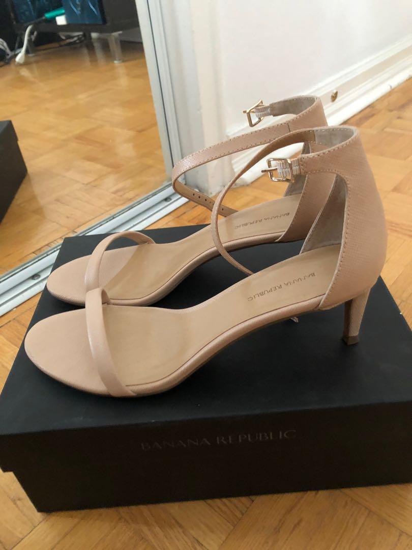 Nine West beige sandals, size 9.5