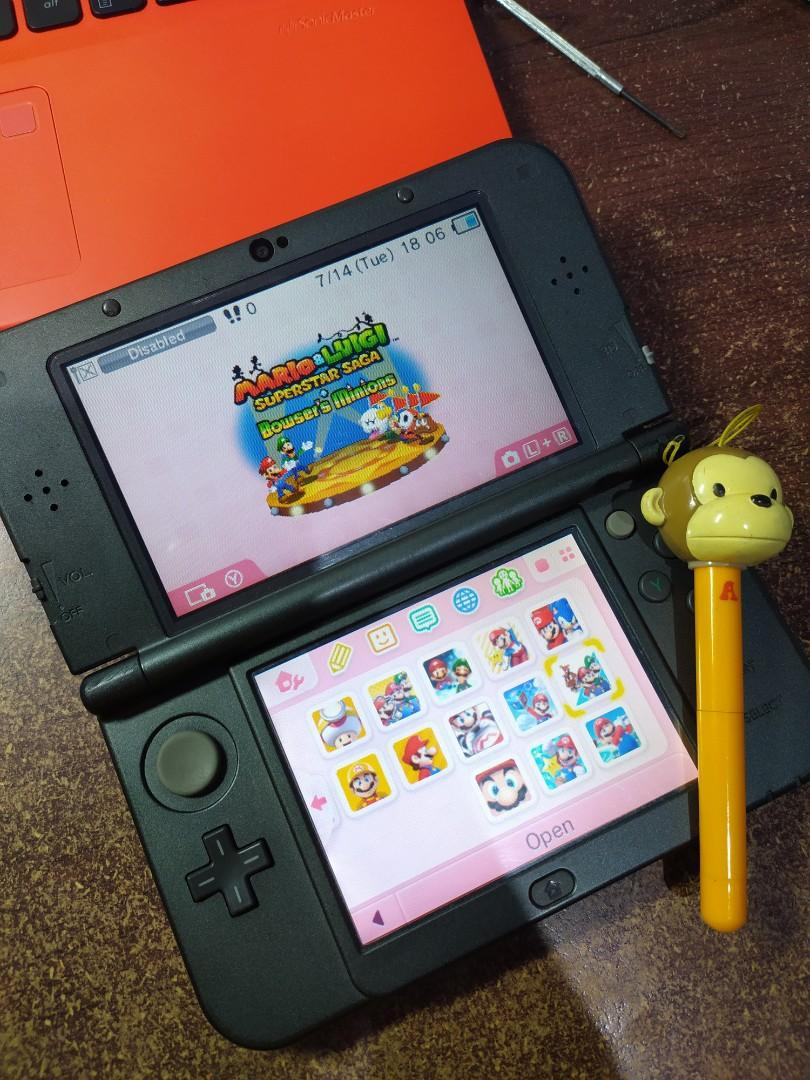Nintendo 3DS XL 16GB full games (50++ games)
