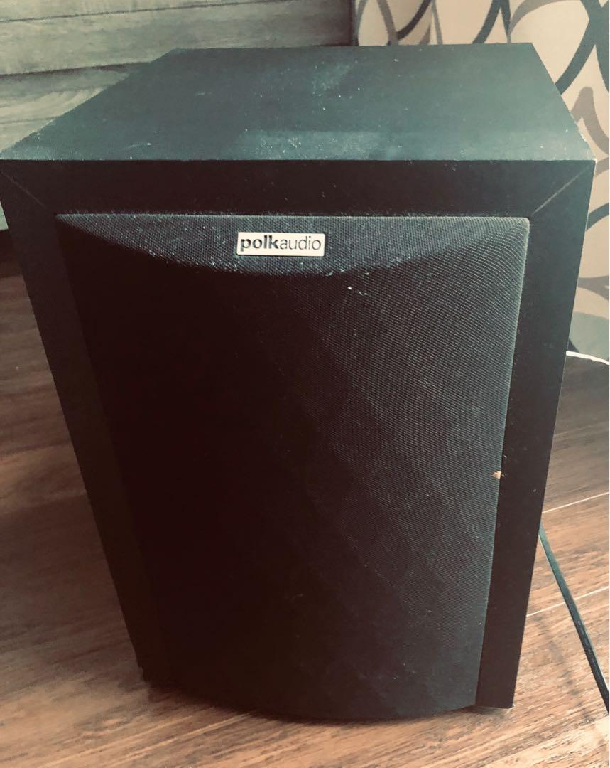 Polk Audio RM6750 Powered Subwoofer 110V