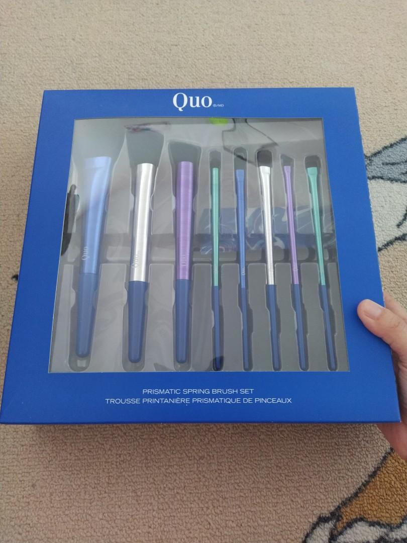 Quo Prismatic Spring Brush Set