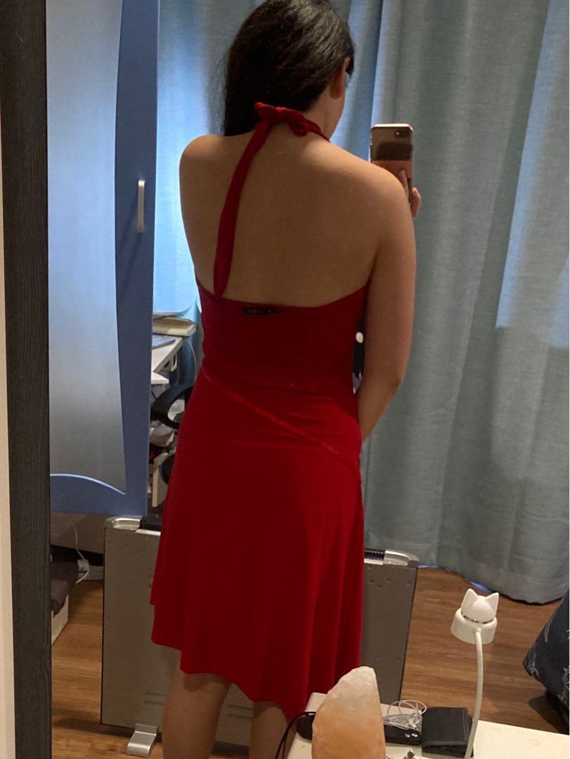 Red Ball Dress Size 10