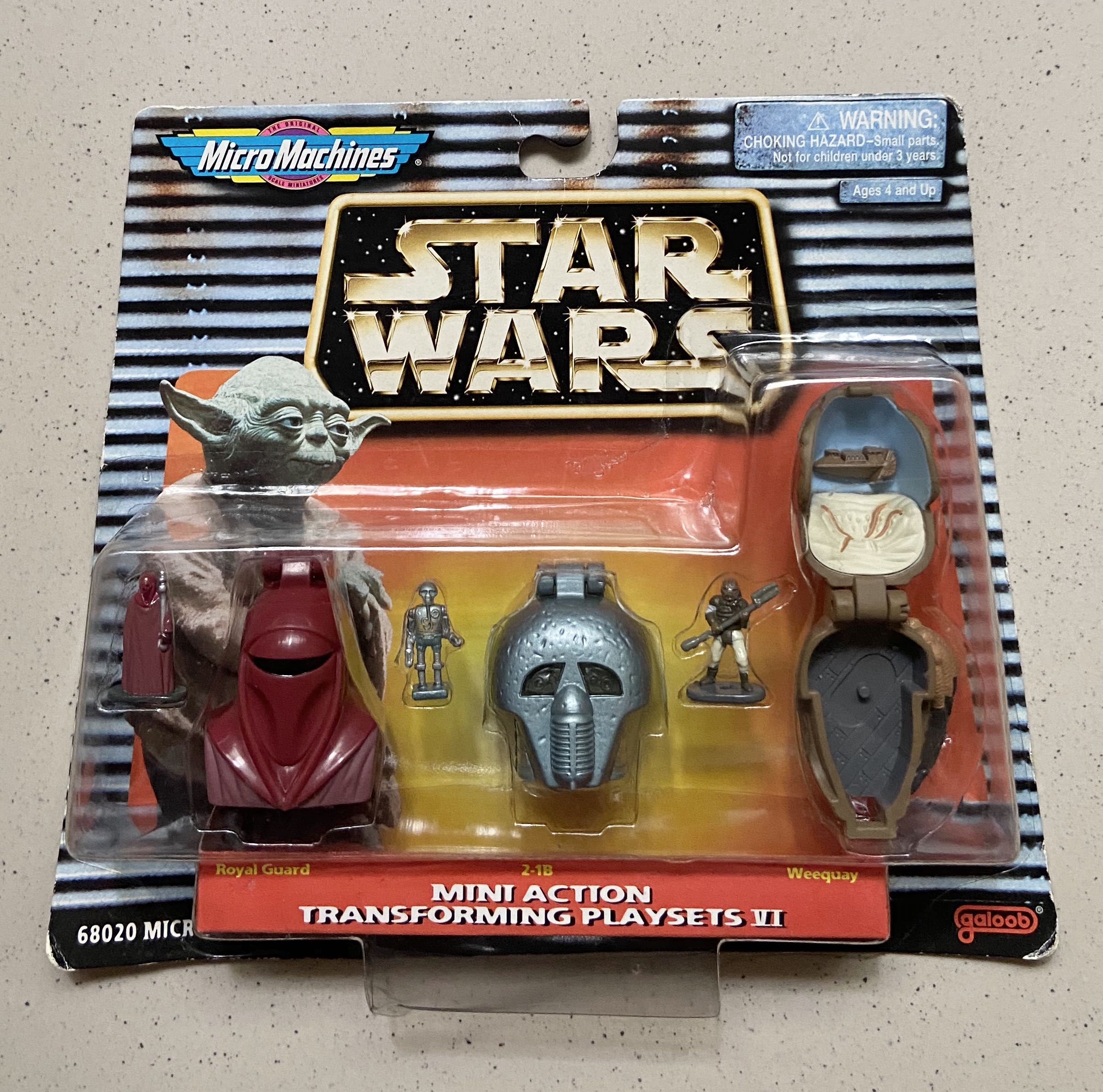 Details about  /Micro Machines Star Wars Transforming Royal Guard
