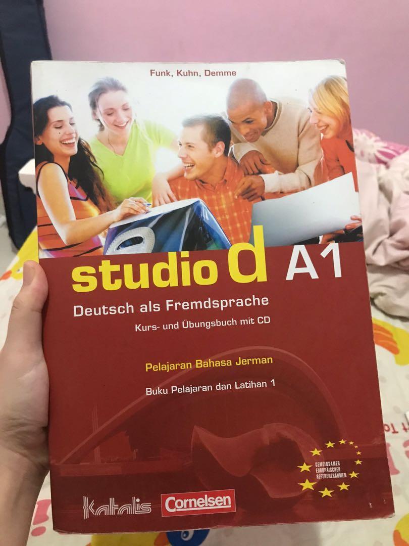 Studio D A1 Bahasa Jerman Buku Alat Tulis Buku Pelajaran Di Carousell