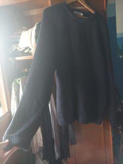 sweater navy super duper jumbo