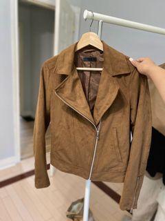 Uniqlo Suede Moto Jacket
