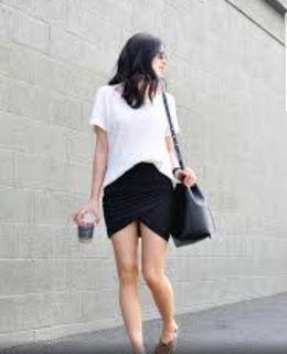 Zara draped mini