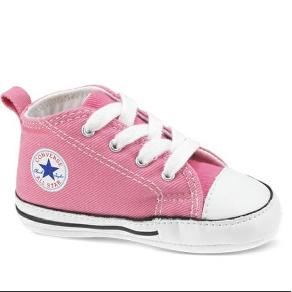 Baby Pink First Star Converse, Babies