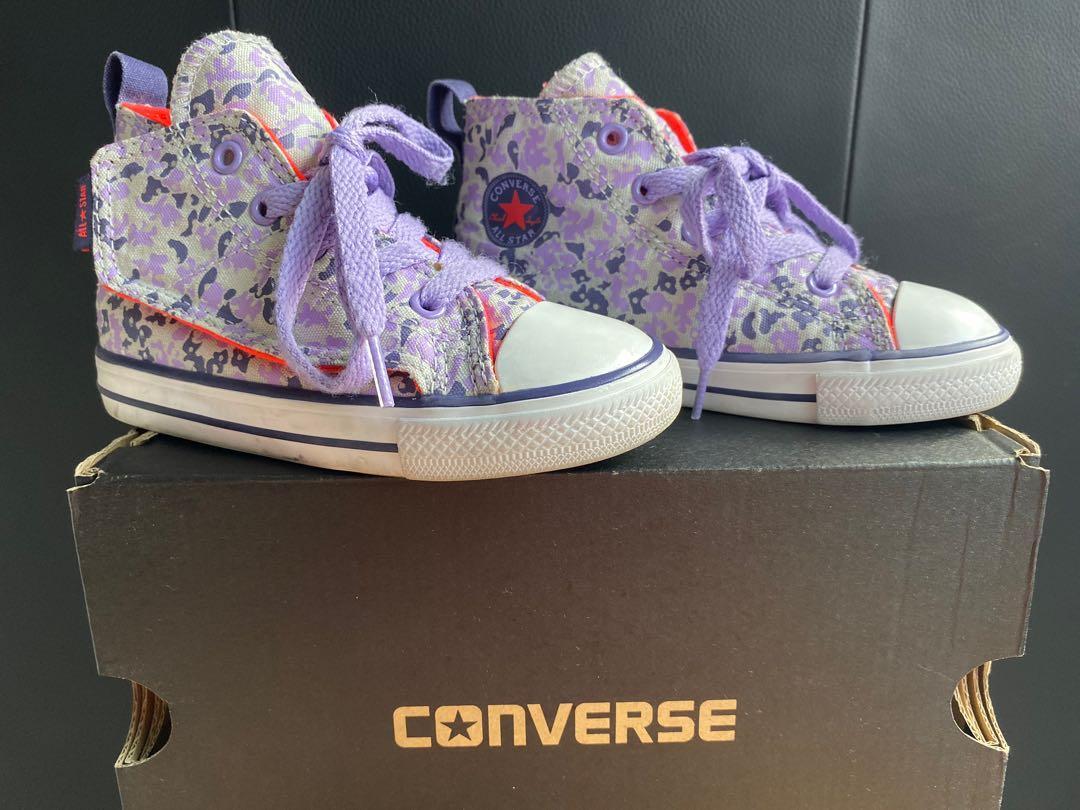 Converse size 8 us ctas simple step hi