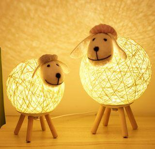 Cute Sheep Table Light/ Side Lamp, 2 Sizes