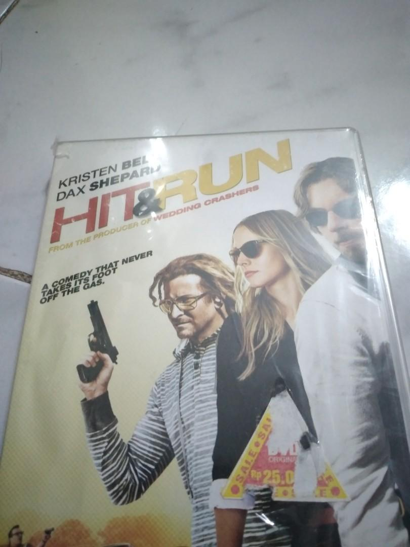 Dvd hit n run #lebihnyaman