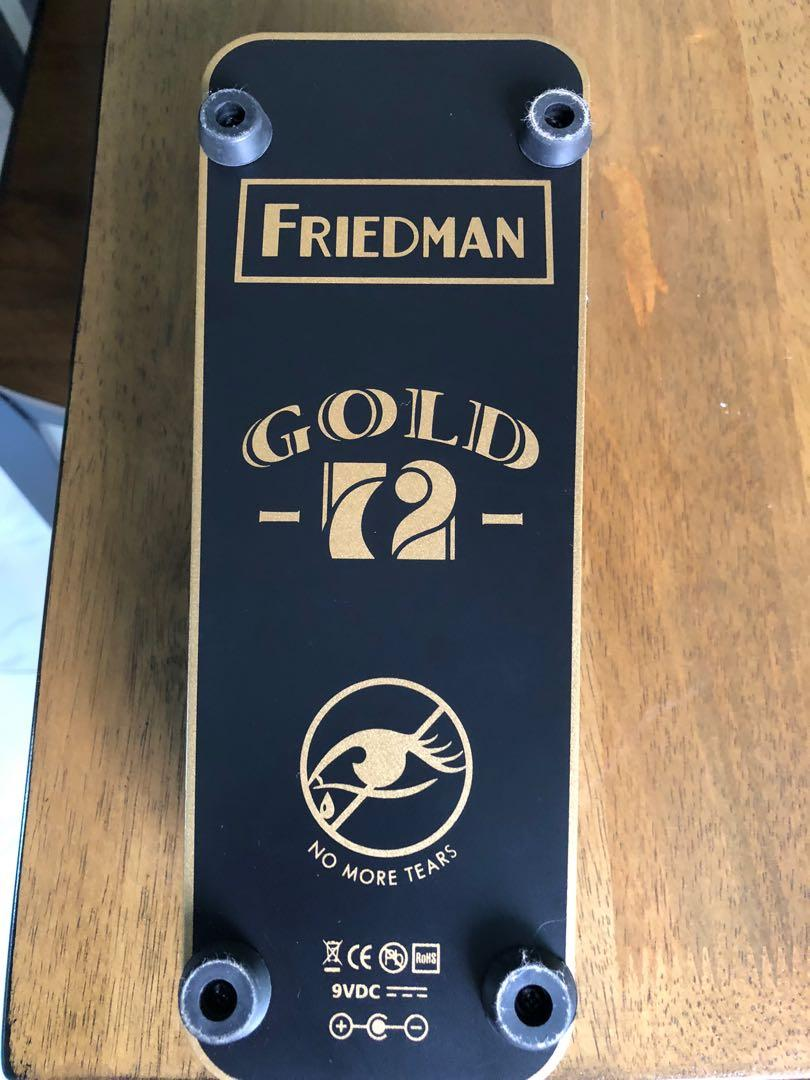 Friedman Gold 72 wah for sale!, Music