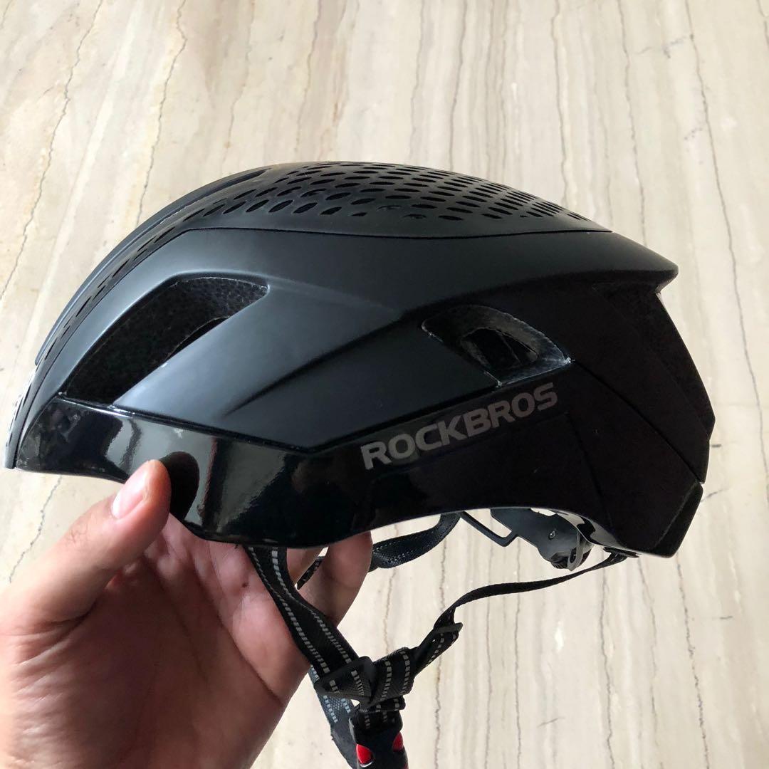 Helm sepeda rockbros black