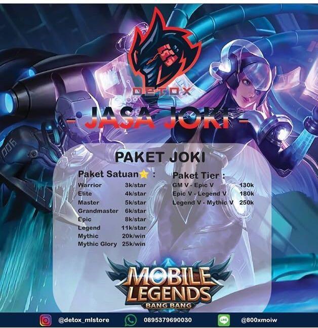 Joki mobile legend