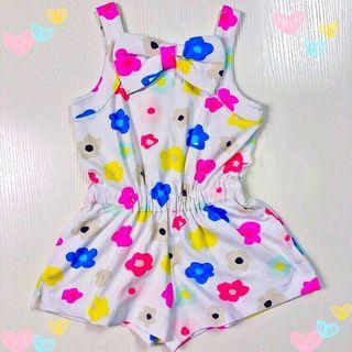 Mother Daughter Matching Outfit~Kate spade Bow Floral Romper