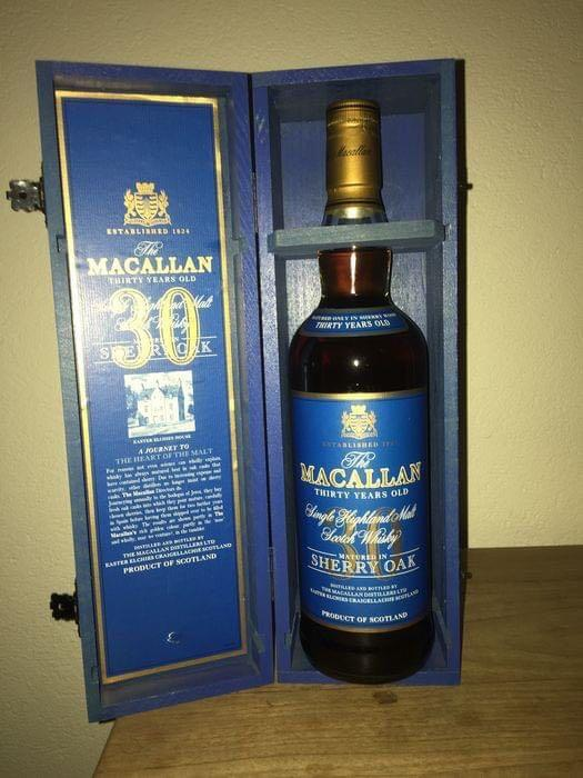 Macallan 30 Year Old Sherry Oak for sale