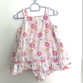 Mothercare Girl Romper Dress #ganjeong