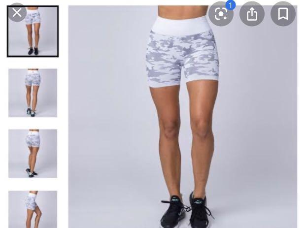 Muscle Nation Camo shorts
