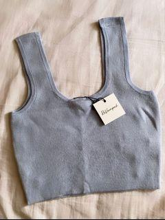 New Baby Blue Tank Top