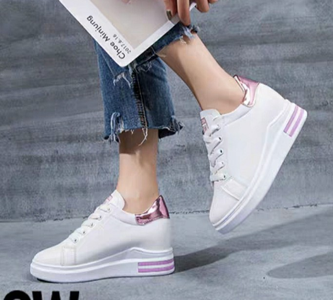 Sport Leisure shoes Elevator 8cm Shoes