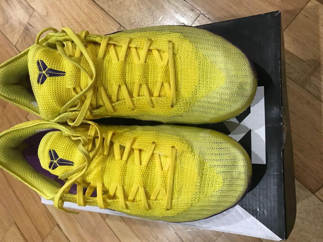 Nike Kobe Ad Nxt 360 Lakers Men S Fashion Footwear Sneakers On Carousell