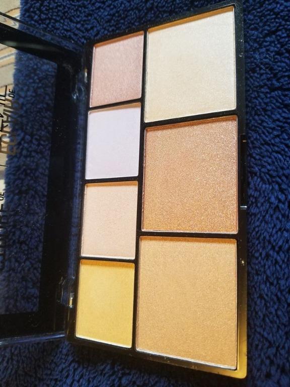 NYX - Strobe Of Genius Highlighting Palette