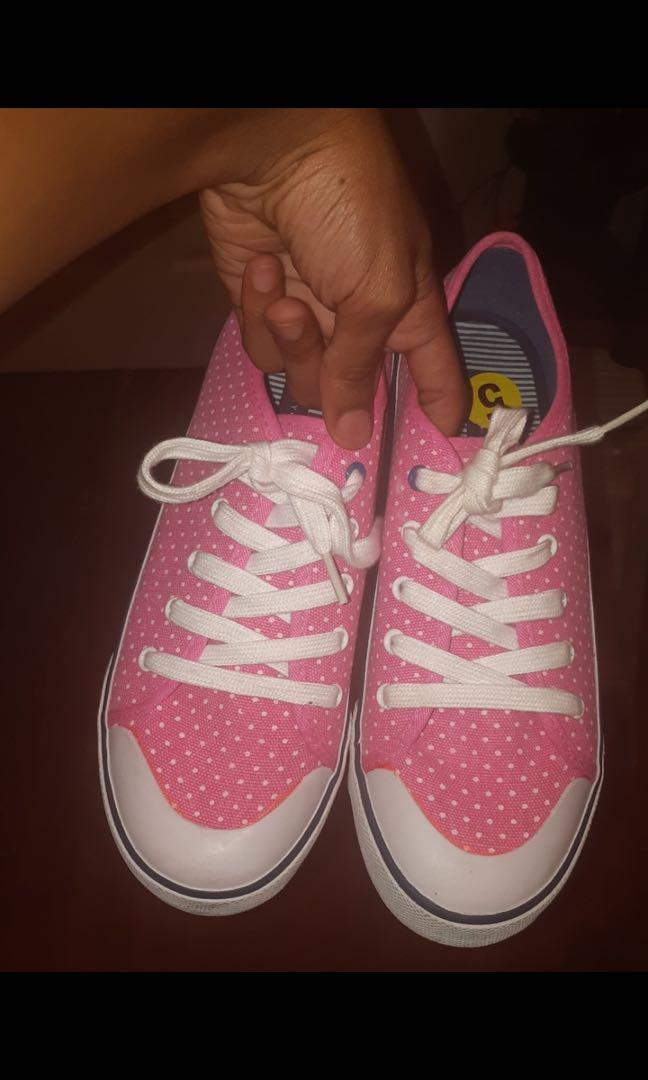 Pink Polkadot Tommy Hilfiger shoes