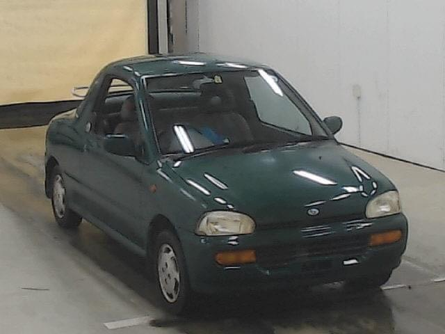 Subaru Vivio T Top Manual