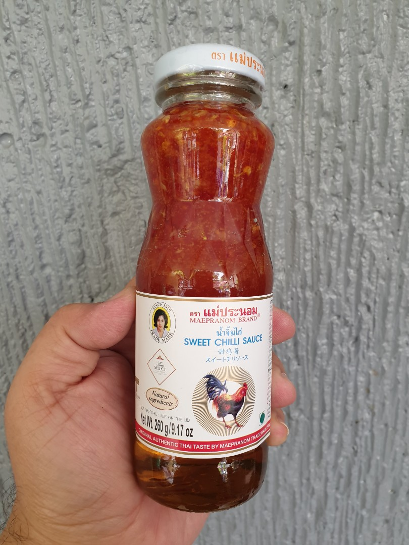Sweet Chili Sauce Maepranom Thailand 260g Food Drinks Kitchen Staples On Carousell