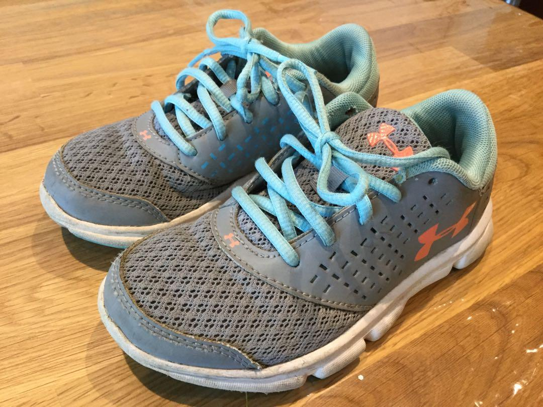 Under Armour -runners size 12 kids