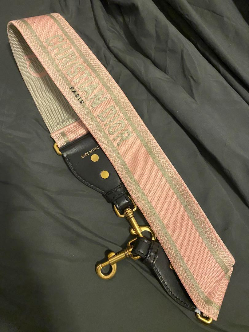 BN Pink canvas attachable hand bag strap