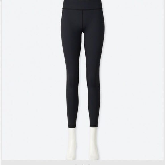 Brand New Uniqlo Women S Airism Soft Leggings Women S Fashion Clothes Bottoms On Carousell