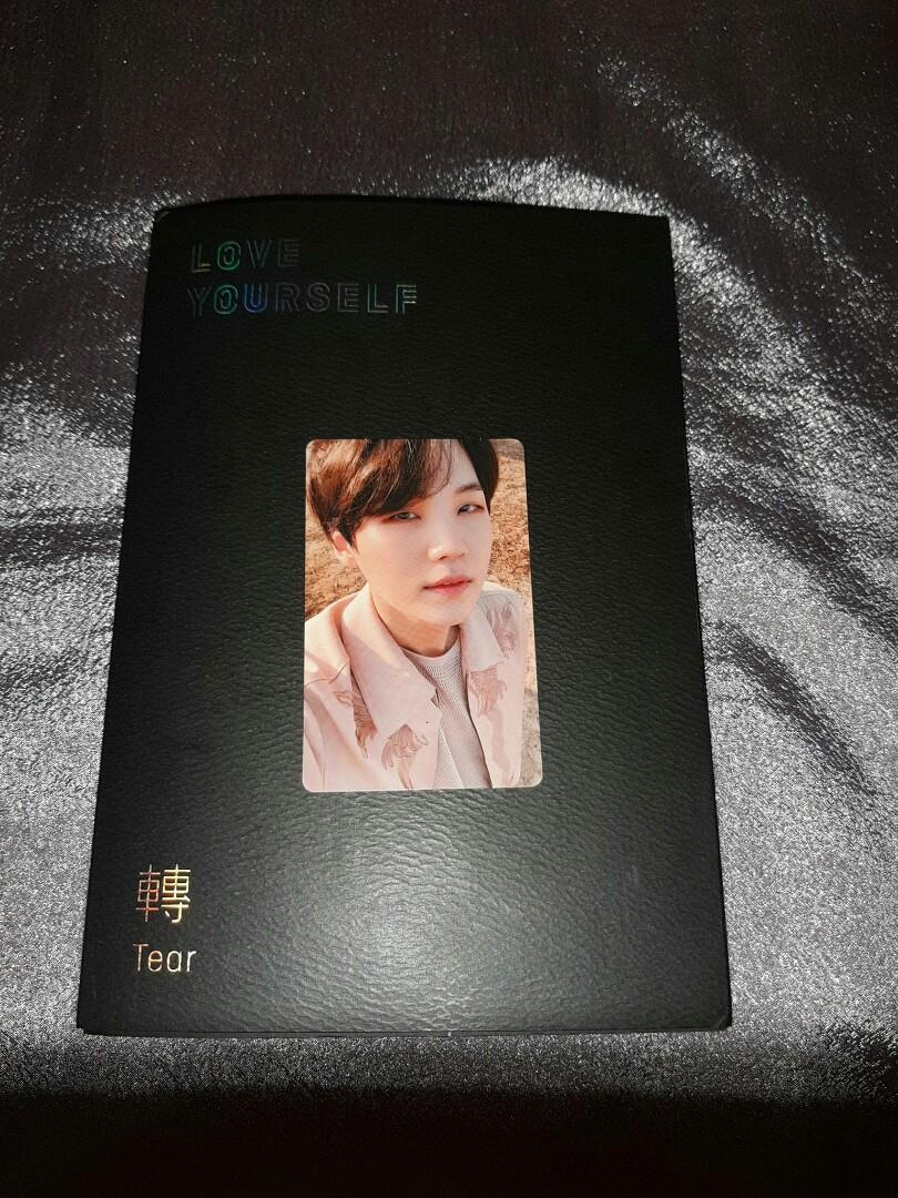BTS LY Tear ver Y pc Suga