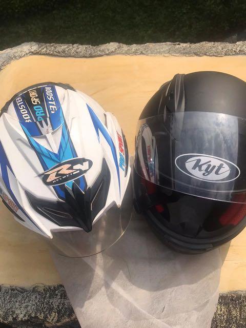 #UltahCarousell Helm KYT full face dapet 2