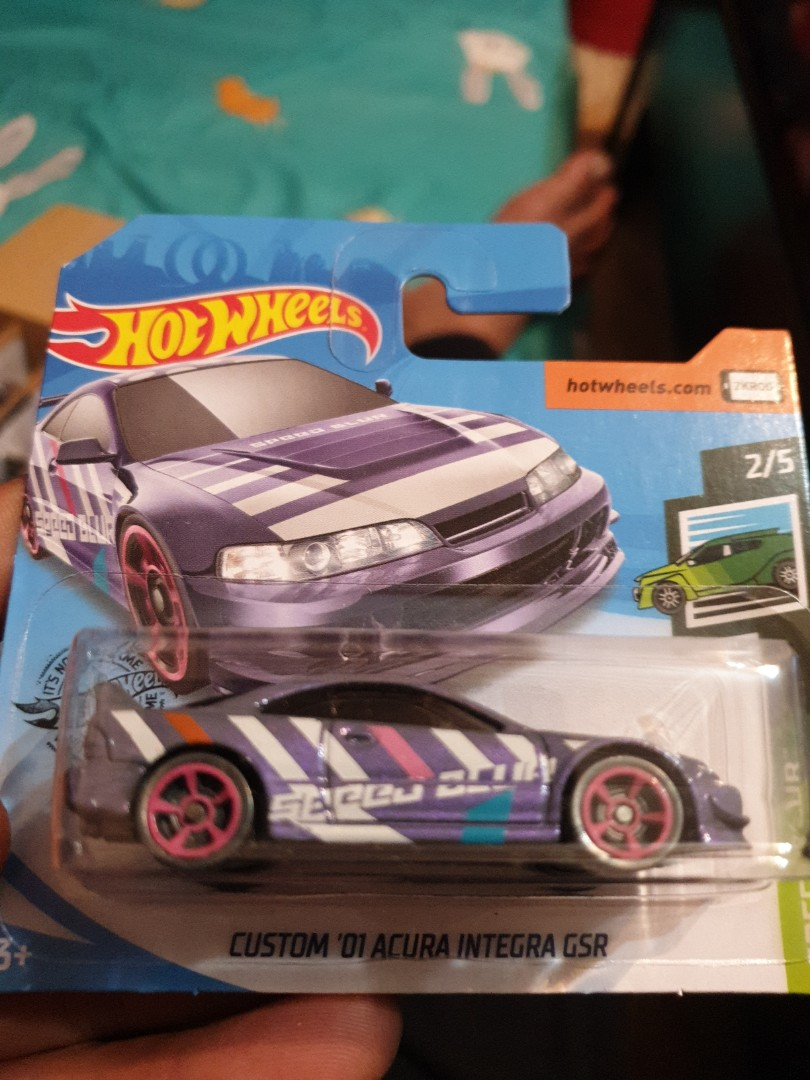 Hot Wheels Custom 01 Acura Integra Gsr Toys Games Others On Carousell