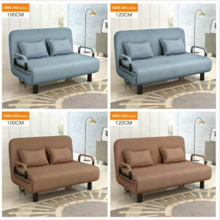 New Foldable Sofa Bed Sofa Bed Furniture Others On Carousell