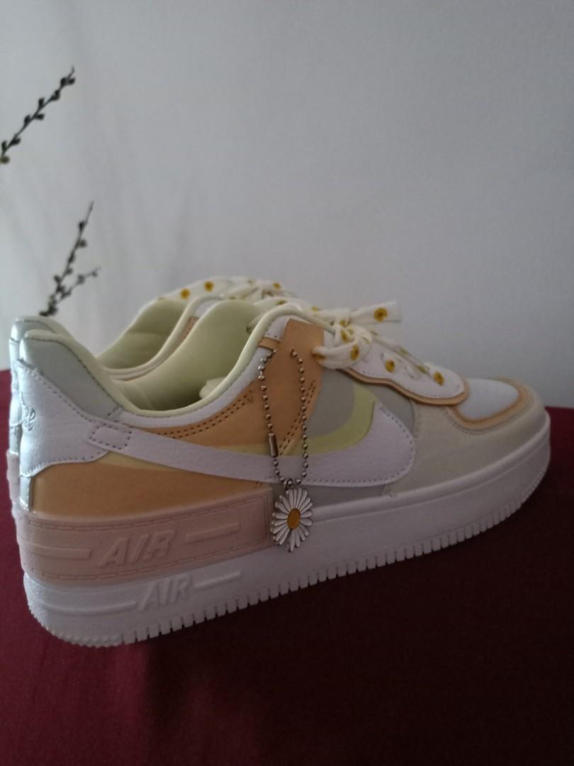 Nike Daisy Air Force 1 Shadow Spruce Aura Women S Fashion Shoes Sneakers On Carousell
