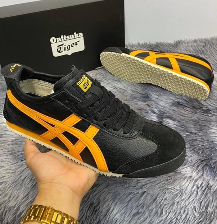 Onitsuka tiger Mexico 66 black yellow