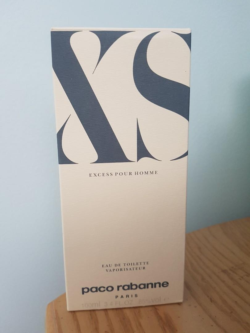 Vintage Paco Rabanne XS Excess for men NEW
