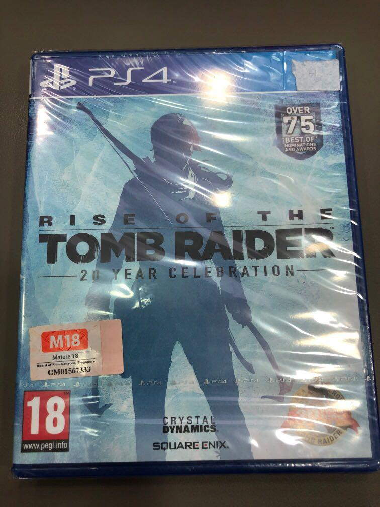 Ps4 Rise Of The Tomb Raider 20 Year Celebration Toys Games