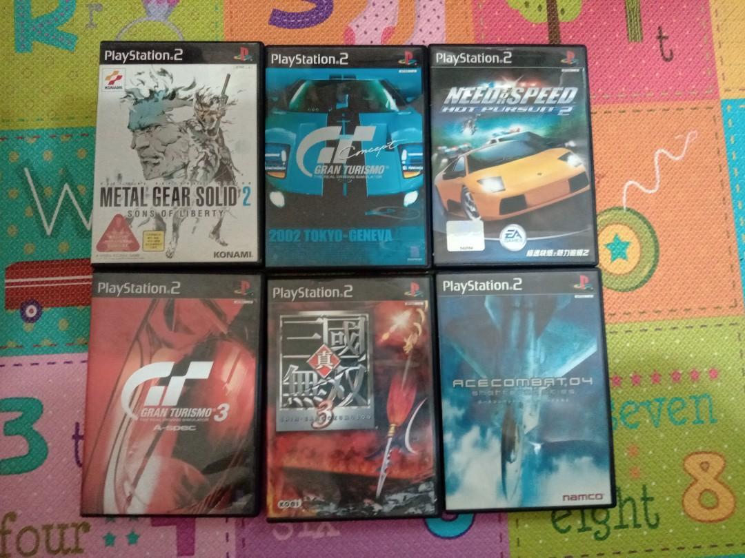 PS 2遊戲,每片300元,郵寄60元