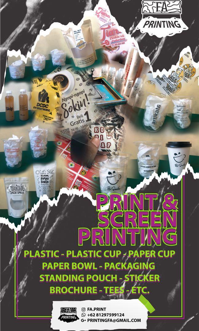 sablon & print packaging